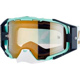 Leatt Velocity 6.5 Iriz Goggles with Anti-Fog Mirror Lens ice bronze